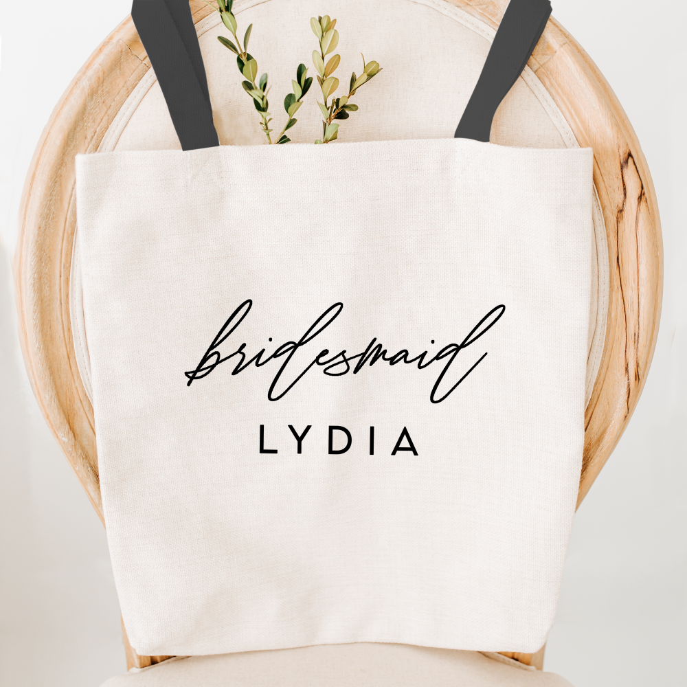 Bridesmaid Gifts Luxury Personalised Bridesmaid Tote Bags Amy Lucy