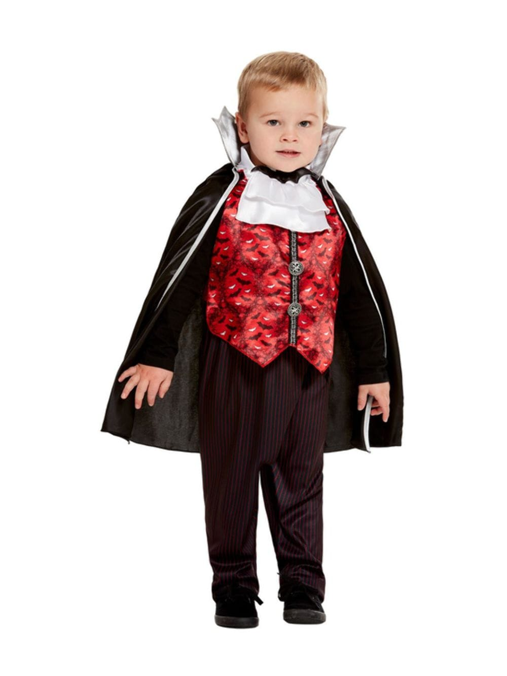 Toddler Halloween Vampire Count Dracula Costume Play And Party