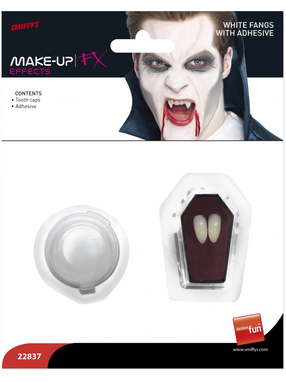 Halloween Horror Fangs Tooth Caps White Vampire Fangs